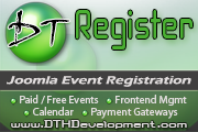 DT Register - event registration for Joomla