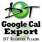 DT Google Cal Export Plugin