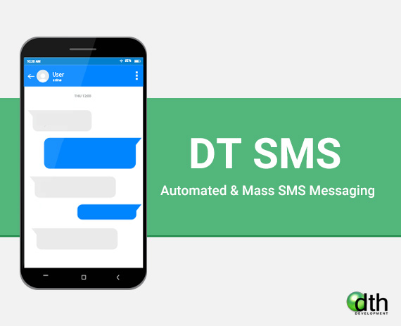 DT SMS - Automated & Mass SMS Messaging for Joomla